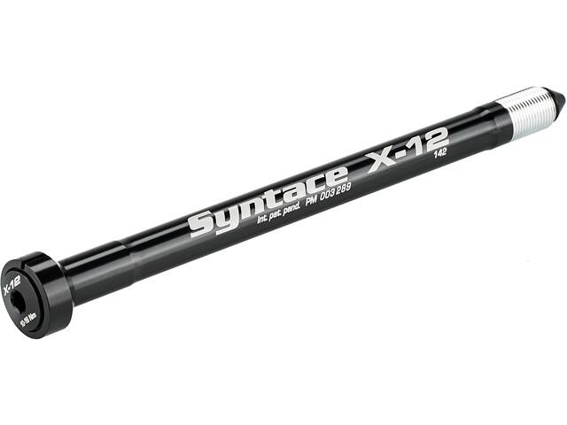 Syntace X-12 Schnellspann-Steckachse 135+ raceblack